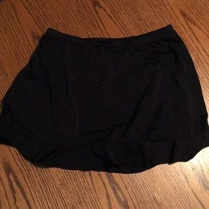 Black swim skirt 14